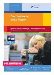 Das Handwerk in der Region - Schwäbisches Tagblatt