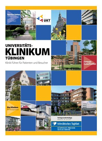 TÜBINGEN UNIVERSITÄTS- - Schwäbisches Tagblatt