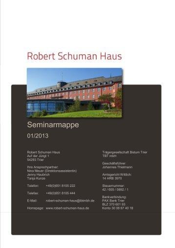 Seminarmappe 1-2013 - Tagen im Bistum Trier