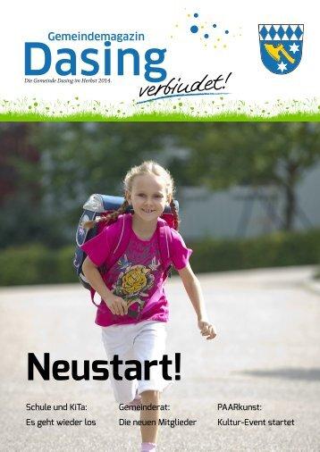 Gemeindemagazin Dasing - Neustart!