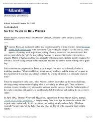 So You Want to Be a Writer | Shan Wang - Tahan.com