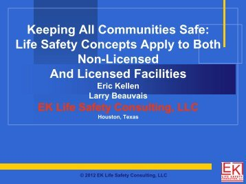 International Fire Code - Texas Association of Homes and Services ...