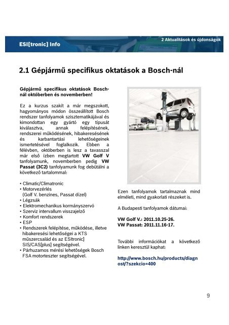 2011/4 ESI News - Bosch
