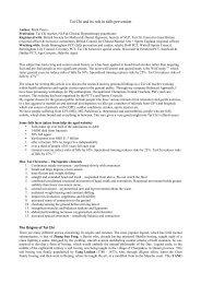 Tai Chi and its effectiveness in falls prevention - The Tai Chi Union ...