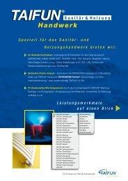 Beilage Sanitär/Hzg. - Taifun Software AG