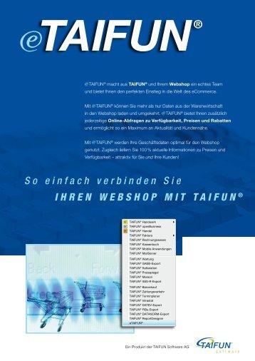 Prospekt - Taifun Software AG