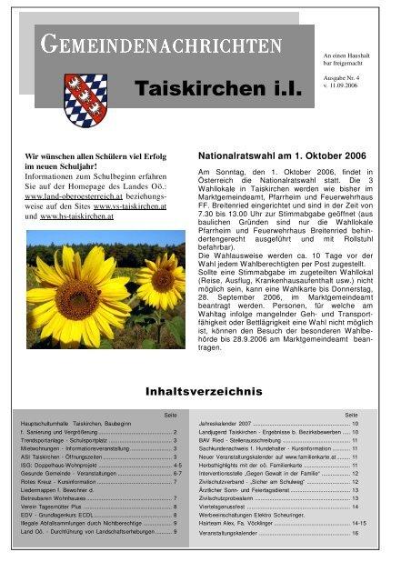 KIRTAG Taiskirchen - Gemeinde Taiskirchen
