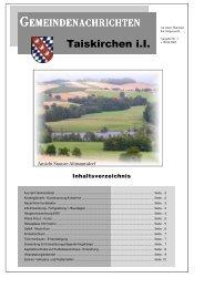 Taiskirchen im Innkreis - RiS-Kommunal - Startseite