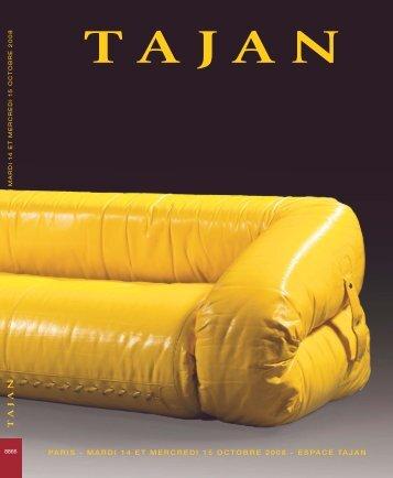 Vente Arts décoratifs du 20e siècle - Tajan