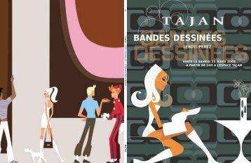 BANDES DESSINÉES - Tajan