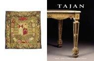 mobilier et objets d'art des xvii, xviii, et xixe siecles - Tajan