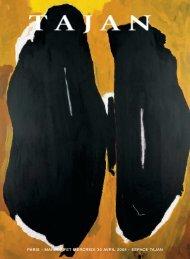 Art Contemporain : lots 1 à 50 - Tajan