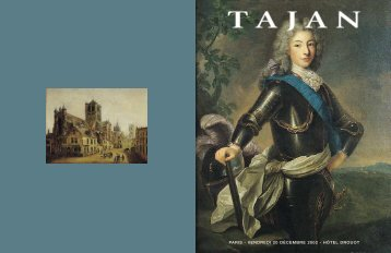 TABLEAUX ANCIENS - Tajan
