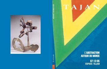 """Tajan - Art contemporain """"L'Abstraction autour du monde"""" - Vente le ..."""