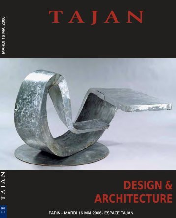 Design & Architecture. Focus on Michel Boyer - Tajan