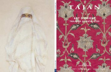 ART D'ORIENT - TABLEAUX OREIENTALISTES - Tajan