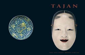 Tajan - Arts d'Asie - Vente le 18 mai 2005