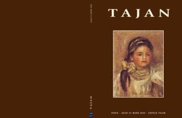 Tajan - Tableaux impressionnistes et modernes - Vente le 31 mars ...