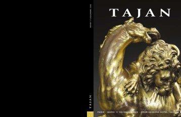 mobilier et objets d'art des xvii, xviii et xixe siecles - Tajan