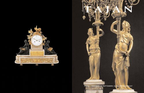 Tajan - Meubles et objets d'art des 18e et 19e siècles - Vente le 24 ...