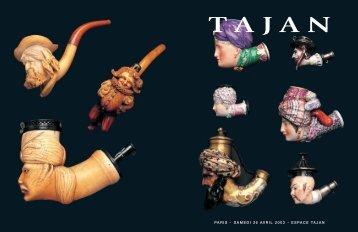 Collection de pipes - Tajan
