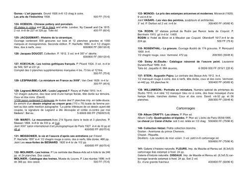 Livres anciens et modernes Collection Mellerio - Tajan