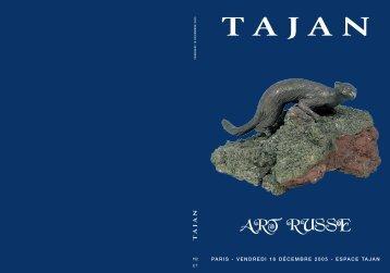 Tajan - Art Russe - Vente le 16 décembre 2005