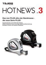 Das non PLUS ultra der Bandmasse - die neue Serie PLUS!