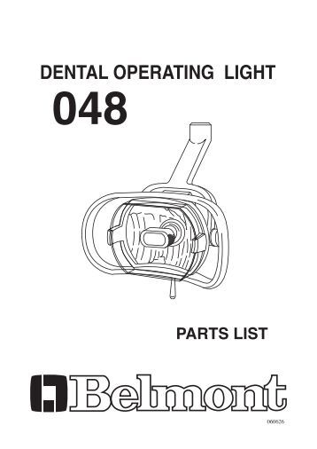Dental Unit And Chair Operating Instructions Takara