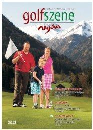 Golf Szene Ausgabe Juli 2012 - Allgäu Sport Report