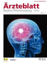 Ärzteblatt Baden-Württemberg 01-2009 [PDF] - Landesärztekammer ...