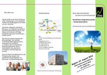 Beginn: 27. August 2012