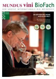 Download MUNDUS VINI Sonderheft 2013 - BioFach