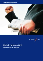 BioFach / Vivaness 2013