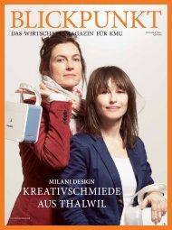 Blickpunkt: Das grösste Schweizer KMU-Magazin widmet milani die ...
