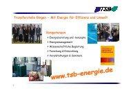 Vorstellung TSB - ITB