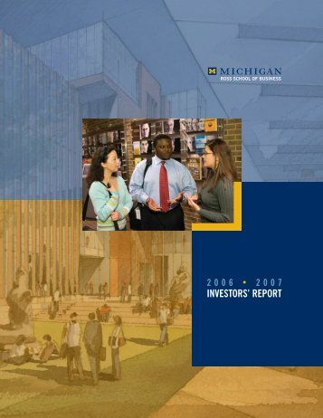 Report - Full Booklet - Stephen M. Ross School of Business ...