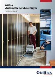 Nilfisk Automatic scrubber/dryer