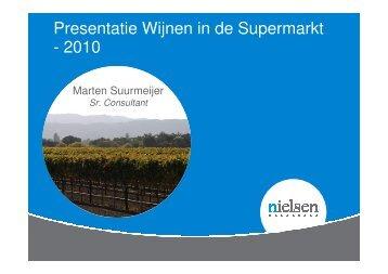 Presentatie Wijnen in de Supermarkt - 2010
