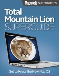 Macworld Total Mountain Lion Superguide (1.0 ... - Take Control
