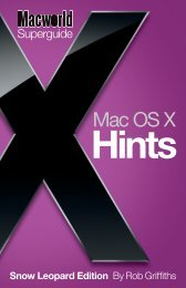Macworld Mac OS X Hints Superguide, Snow ... - Take Control