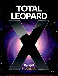 Total Leopard - Macworld Mac OS X Superguide - Take Control