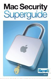 Macworld Mac Security Superguide - Take Control