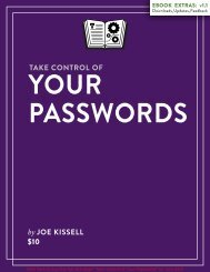 Take Control of Your Passwords (1.1) SAMPLE