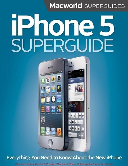 Macworld iPhone 5 Superguide (1.0) SAMPLE - Take Control