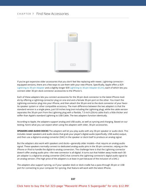 Macworld iPhone 5 Superguide (1.0) SAMPLE - Take Control