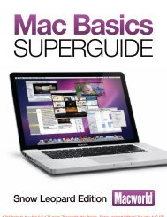 Mac Basics Superguide, Snow Leopard Edition ... - Take Control