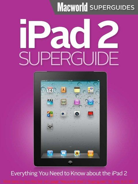 Macworld's iPad 2 Superguide - Take Control