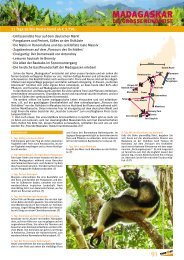 Madagaskar - bei TAKE OFF Erlebnisreisen
