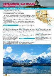 Patagonien, KaP Hoorn - bei TAKE OFF Erlebnisreisen